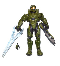 "Halo Collector Series UNSC Spartan Master Chief 6"" Loose Action Figure"
