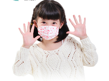 24 pcs child Disposable masks anti-fog and haze PM2.5 dust masks for children summer thin models cute cartoon