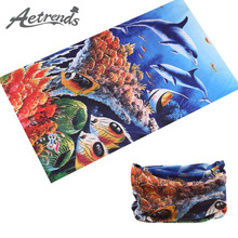 [AETRENDS] 2016 New Bandana Cycling Sports Seamless Tubular Headband Magic Bandanas Multifunctional Headwear Z-2359()