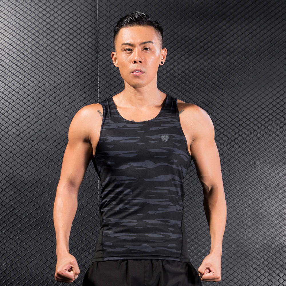 Man Bicycle Cycling Tank Vests High Elasticity Quickly Dry Workout Fitness Sports Gym Running Athletic Shirt Top Tank Vests A1