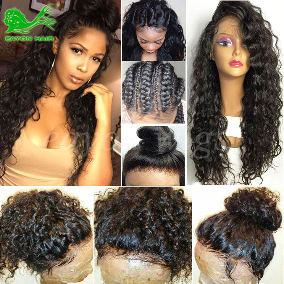 Brazilian Full Lace Human Hair Wigs With Baby Hair Cheap Lace Front Wigs Human Hair For Black Women Affordable Lace Frontal Wigs<br><br>Aliexpress