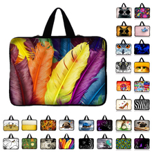 "Painted Laptop Bag Tablet Sleeve Notebook Case For 10.1 11.6 12 13.3 14"" 15.4 15.6 17.3 inch Computer For Asus HP Acer Lenovo M(China)"