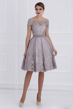 New Arrival Fashionable Design Elegant Cocktail Dresses Lace Cocktail Dress Party Dress(China)
