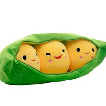 Pea Design Plush Toys Kids Appease Christmas Birthday Super Cute Kawaii Gift High Quality Toy Gifts(China)