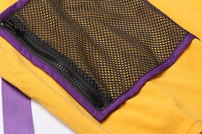 Ribbon Zipper Pocket Tshirts 4