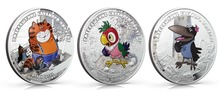 Cook Islands 2012 - 5$ - Return of Prodigal Parrot - THE CAT - 1Oz Silver Coin Rare 300pcs/lot free shipping(China)