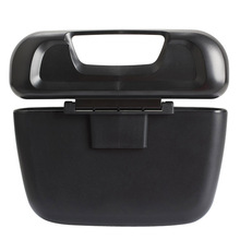 Mini Portable Car Trash Box Multifunctional Garbage Bin Dust Case Tissue Box Container car-styling(China)