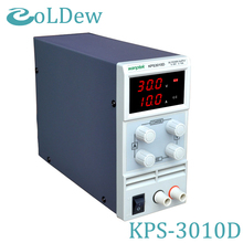 KPS3010D Adjustable Variable Portable DC Switching Power Supply Output 0-30V 0-10A Support AC110-220V(China)