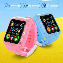 Espanson GPS Tracker Children Security Anti lost Smart Watch With Camera Kid Emergency SOS For IOS Android waterproof baby Watch(China)