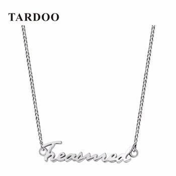 Tardoo Personalidad de La Marca de Alta Calidad 925 joyas de Plata Colgante de Collar de la Mujer Gargantilla Collar de La Joyería Fina