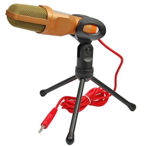 Tripod - Microphone Professional Condenser Sound Podcast Studio Microphone For PC Laptop Skype MSN NEW Microphones