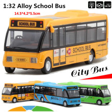 Specials Diecast Metal model,1:32 Alloy pull back school bus,gift toy cars,MiNI alloy car toys,free shipping(China)