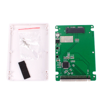Hot Sale 1.8 inch Micro SATA to 2.5 inch IDE PATA Adapter Card With Case  # 70840