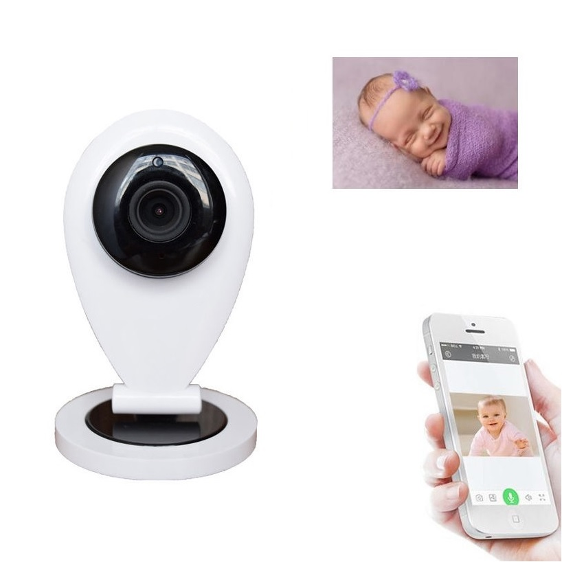 Wifi camera babyfoon monitor New 720P babyphone camera IR Night vision Intercom Motion Detection Alarm wifi baby phones doppler<br>