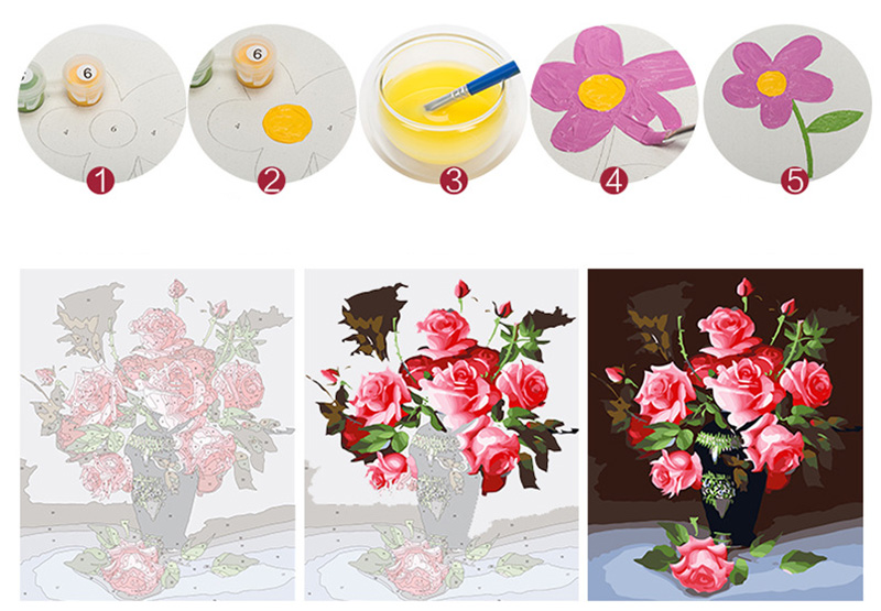 diy painting by numbers oil landscape painting by numbers flowers for kids by numbers painting wall painting oil painting canvas painting diamond painting full (2)