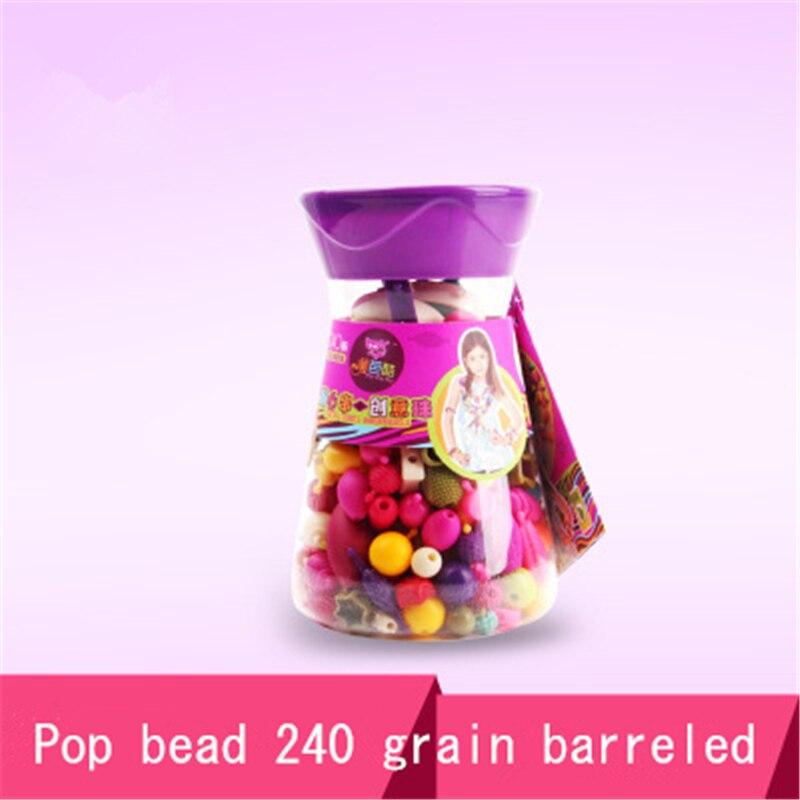 Cordless 240 toys Handmade Beaded pop Bead Beaded girls around plastic toys on mental training interest holiday gift<br><br>Aliexpress