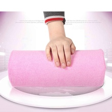 1 pc New Soft Nail Art Small Hand Pillow Cushion Salon Tools Nail Equipment Beauty Accessories High Quality(China)