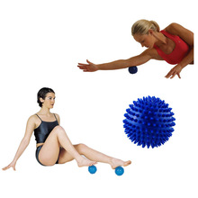 7cm Footful Spiky Point Massage Ball Roller Reflexology Stress Relief for Palm Foot Arm Neck Back Body for Men Women(China)