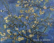 modern art oil paintings Almond Blossoms Vincent Van Gogh Reproduction canvas Hand painted High quality