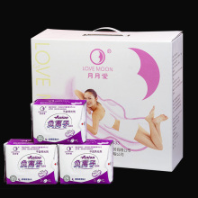 19 pack Anion Sanitary napkin Love Moon Winalite Love moon Anion Pads Female Hygiene Sanitary Napkin Slipeinlage winalite(China)
