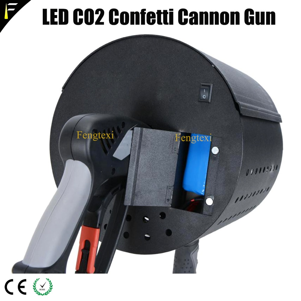 LED CO2 Confett Cannon7