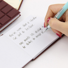 1PC DIY Chocolate Memo Pad Papeleria School Gift Cover Notepad 80 Sheets Convenient Creat Stationery Notebook