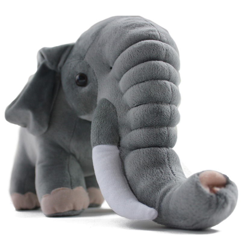 New Plush Toys Elephant Cartoon Elephant Dolls Best Gifts for Kids cushion Girls Pink Toys for Best Friends 45*20*25 pillow<br><br>Aliexpress