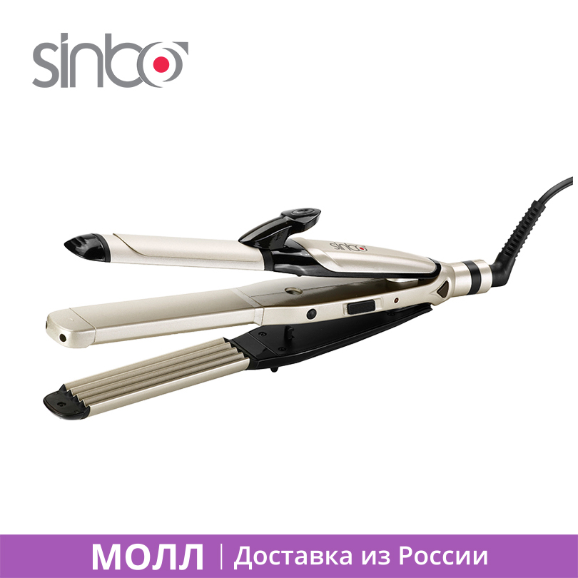 Sinbo SHD 7046 Straightening  Iron 55W Ceramic coating with Diaplay heating temperature to 200