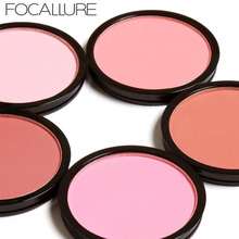 FOCALLURE 6 Colors Blush Makeup Cosmetic Natural Pressed Blusher Powder Palette Charming Cheek Color Make Up Face blush blusher
