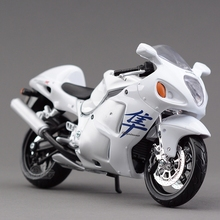Freeshipping Maisto SUZUKI GSX 1300R 1:12 Motorcycles Diecast Metal Sport Bike Model Toy New in Box For Kids