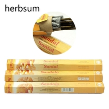 One Pack Handmade India Incense Sticks Aromatherapy India Sandalwood Incense Indoor Fragrance Home Living Room Decor Gifts