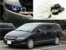For Honda Odyssey 2003-2008 RB1-RB2 chassis Excellent angel eyes kit Ultrabright illumination CCFL Angel Eyes kit Halo Ring