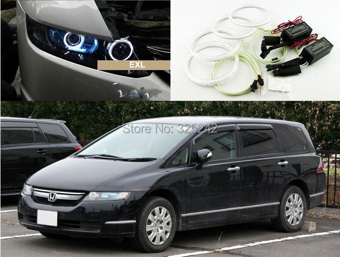 For Honda Odyssey 2003-2008 RB1-RB2 chassis Excellent angel eyes kit Ultrabright illumination CCFL Angel Eyes kit Halo Ring<br><br>Aliexpress