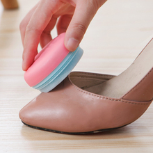 1Pc Cute Macaron Shape Portable Double-sided Rub Sofa Sponge Shoes Brush Cleaning Polishing Multi-function Tools Home Supplies(China)