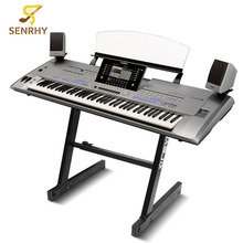 SENRHY Z-Type Adjustable DJ Mixer 61/88 Keyboard Piano Stand Piano Holder Keyboard Heavy Duty Bracket Support Instruments Parts(China)