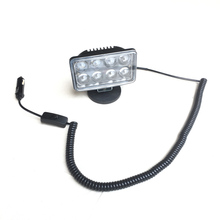"4"" 40w Spot led magnet Car roof spotlight headlight Offroad 4x4 ATV UTV SUV Truck headlamp Crane Forklift Emergency work light(China)"