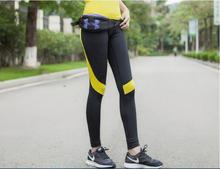 Women's  High Waist Yoga Sport Leggings  Stretchy Gym Long  Pants Ankle Flex Workout Tights Green Yellow Orange XL Free Shipping