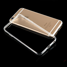 Transparent Clear Soft Silica Gel TPU Case Silicone Cover for iPhone 5S 5 5C SE 6 7 Plus 7Plus Ultra Thin Mobile Phone Case