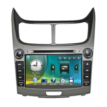 "8"" Car Radio DVD GPS Navigation Central Multimedia for Chevrolet Sail 2010 2011 USB Analog TV RDS Phonebook Bluetooth Handsfree"
