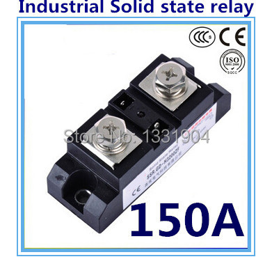 DC to AC SSR-H150ZF 150A SSR relay input DC 3-32V output AC660V industrial solid state relay<br>