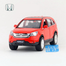 Free Shipping/Diecast Toy Model/1:30 Scale/Honda CRV CR-V SUV/Pull Back/Sound & Light Car/Educational Collection/Gift/Children