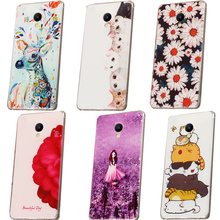 Meizu m5s Soft Back phone cases cover,3D Case for Meizu m5s cute cases meizu m5s 100%