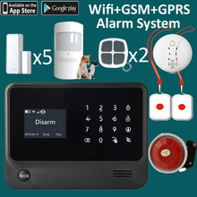 SOS emergency alarm system for single lonely elder people, panic security alarming system gsm wifi(China)