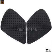 For SUZUKI GSR600 GSR 600 2006-2010 GSX-R1000 GSXR 1000 2007-2008 Motorcycle Tank Pad Side Gas Knee Grip Stickers Black