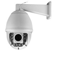 Outdoor 6.0 inch Intelligent IR Auto Tracking High Speed Dome PTZ Security Camera 1/3 inch SONY CCD 700TV Lines 23X Optical Zoom