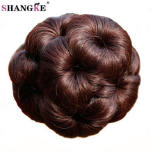 Natural 9 Flowers Ponytail Hairpieces Synthetic Claw Ponytails Heat Resistant Hair Ponytail Natural Fake Hairpiece Ponytail(China)