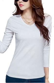 HTB1UzrQSpXXXXc6XVXXq6xXFXXXE - 2017 Autumn Winter Korean T-shirts For Women Cotton Fashion T Shirt