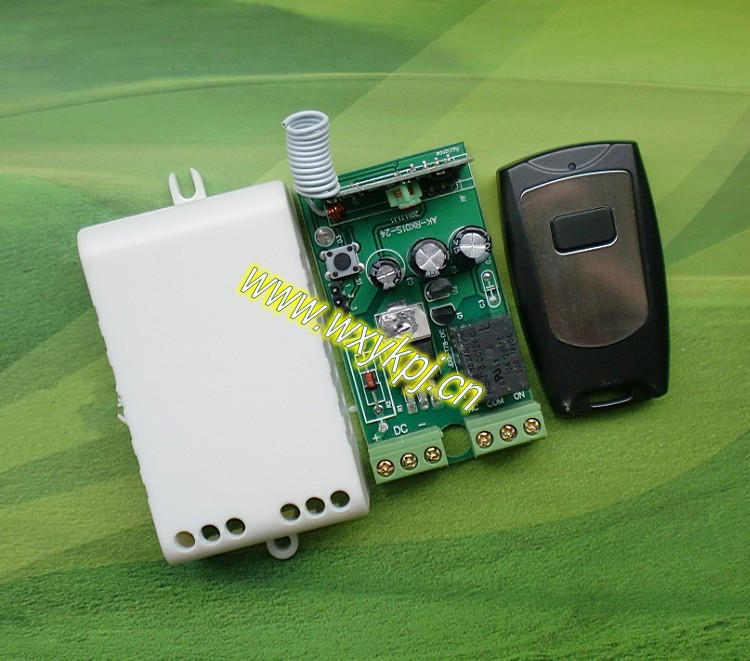 DC24V 10A Single Channel RF Wireless remote on off control DC Switch Receiver&amp; Transmitter 433Mhz 315MHz<br><br>Aliexpress