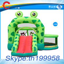 3.3*3*2.35mH  kids/baby  residential home inflatable jumper,bouncers bounce house with  slides