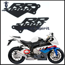 For BMW S1000RR 2010 2011 2012 2013 2014 Motorcycle Accessories CNC Aluminum Foot Peg Heel Plates Guard Protector